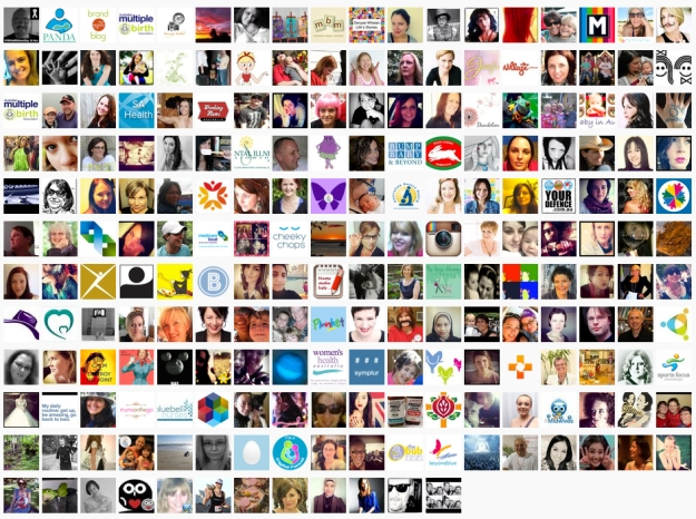 All #bePNDaware Participants 8th November 2012-25th November 2012, courtesy of www.symplur.com