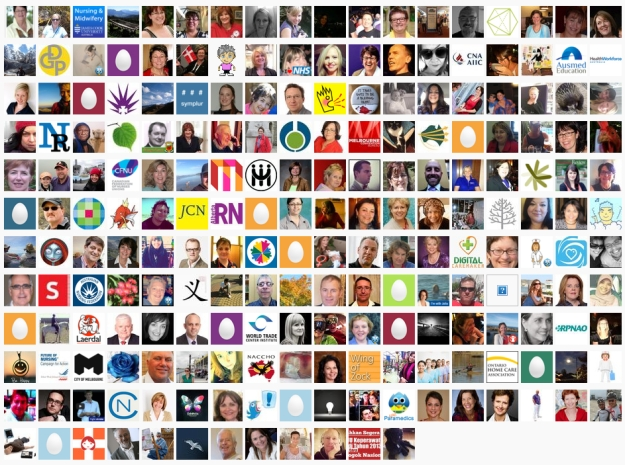 210 of the 288 #ICNAust2013 participants.  Image source/credit: http://www.symplur.com