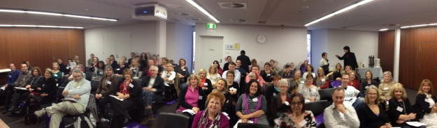 View from the podium at the opening session of the ACMHN Consultation Liaison / Perinatal & Infant Mental Health Nurses Annual Conference 2012