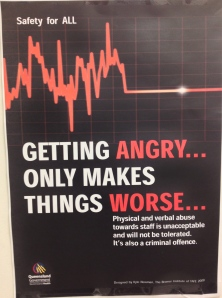 Huh? Of course people will get angry: it is an unavoidable, natural human emotion.