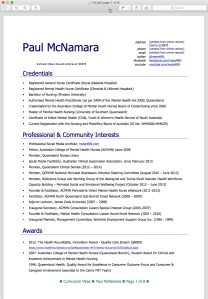 Example of nursing curriculum vitae meta4rn cv why do i want you to look at that version it is because ive spent time formatting it to look pretty prettier than i can manage on this website yelopaper Gallery